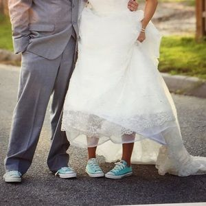 Converse Shoes Nwt Tiffany Blue Chuck Taylor All Star Poshmark